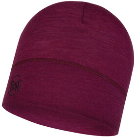 Buff Lightweight Merino Wool Headwear purple